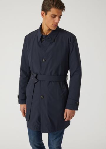 Emporio Armani Trench Coats - Item 41789365