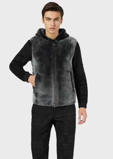 Emporio Armani Leather Coats - Item 59142001