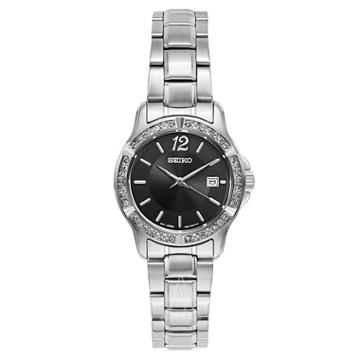 Seiko Women's Crystal Dress Watch