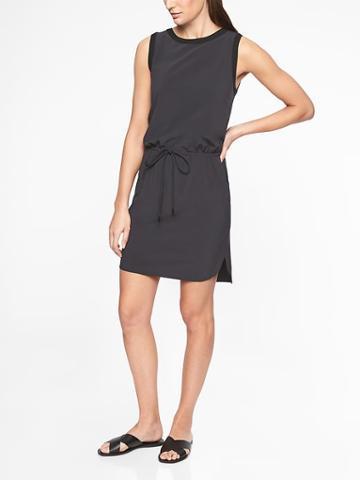 Athleta Womens Rincon Dress Black Size M