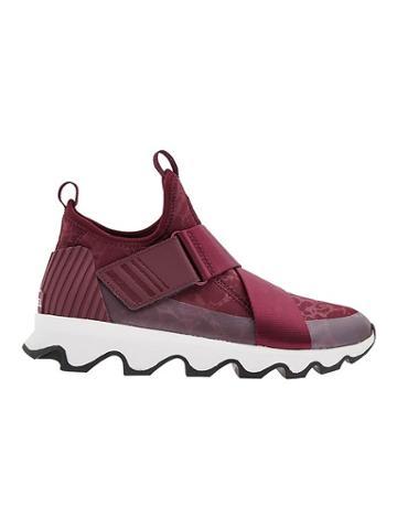 Athleta Womens Kinetic Sneaker By Sorel Wine Size 8