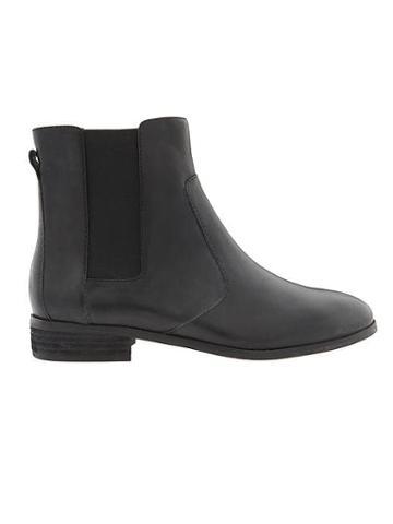 Athleta Womens Lane Wr Chelsea Boot By Dr. Scholls Black Size 10