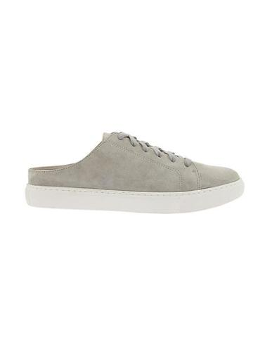 Athleta Womens Kinsley Lace Up Sneaker Mule By Kenneth Cole Light Grey Size 7.5