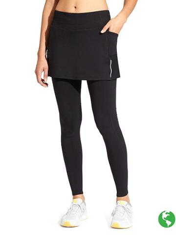 Athleta Womens Be Free 2 In 1 Tight Black Size Xs