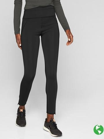 Athleta Womens Stealth Tech 7/8 Tight Size M Tall - Black