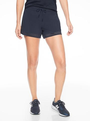Athleta Womens Baja Short Navy Size 6