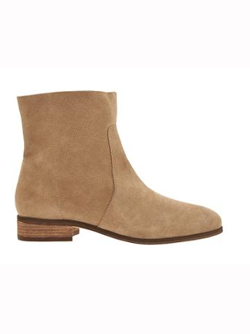 Athleta Womens Lane Soft Boot By Dr. Scholls Taupe Suede Size 7