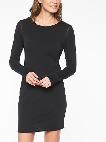 Athleta Womens Industry Weekday Dress Black Size Xs