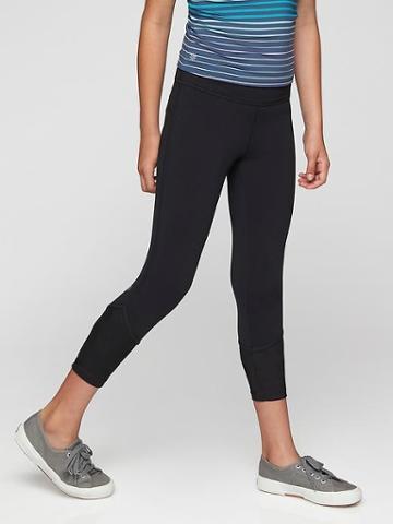 Athleta Womens Mind The Mesh Capri Size L/12 - Black