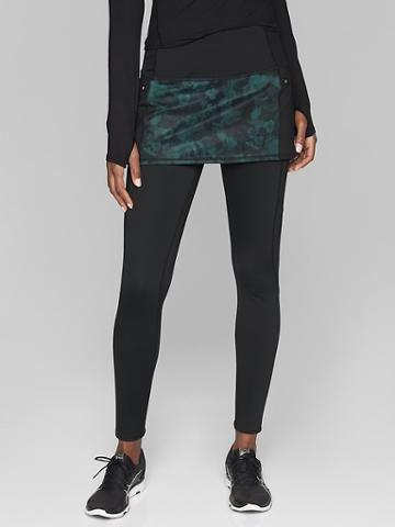 Athleta Womens Frost High Traverse 2 In 1 Tight Abyss Size Xs