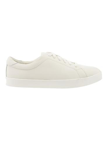 Athleta Womens Sola Sneaker By Dr. Scholls White/ White Size 6