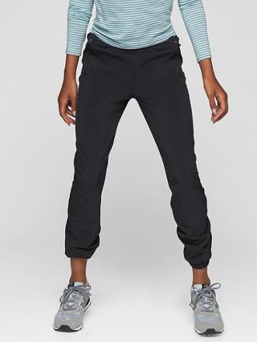 Athleta Run Wilder Pant Size L/12 - Black