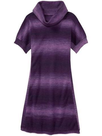 Athleta Womens Space Dye Zuni 2 Dress Nightshade Purple Size Xs