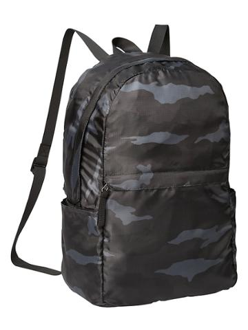 Camo Packable Backpack