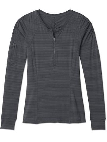 Athleta Womens Pacifica Upf Shirt Size Xs - Asphalt