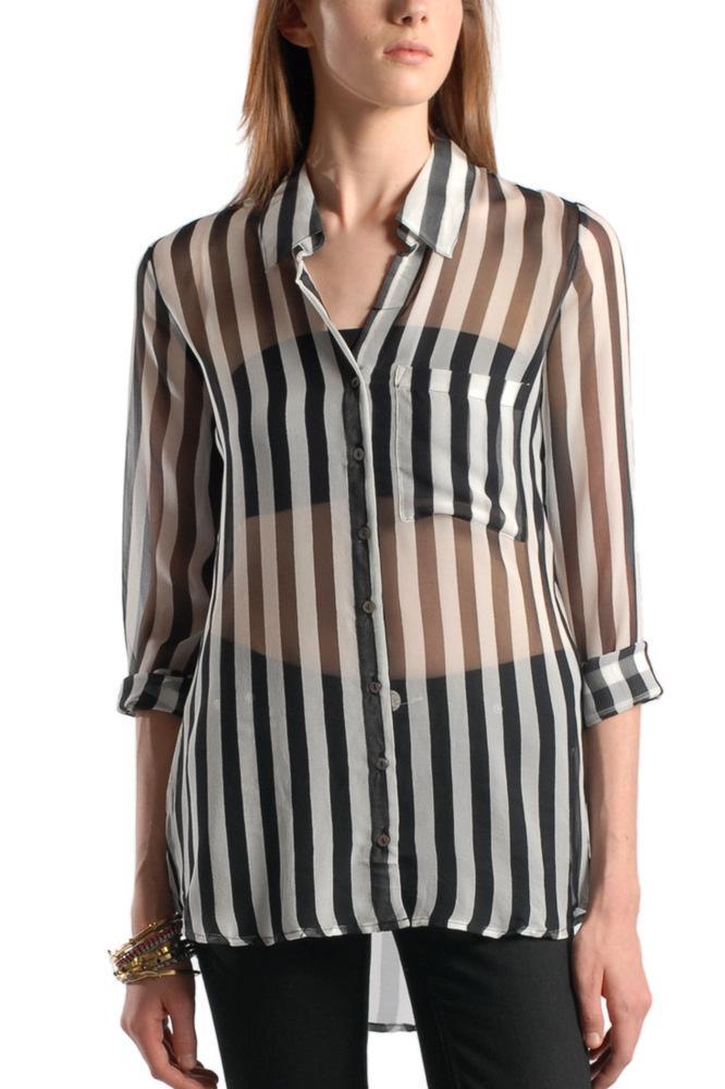 Femme Striped Blouse