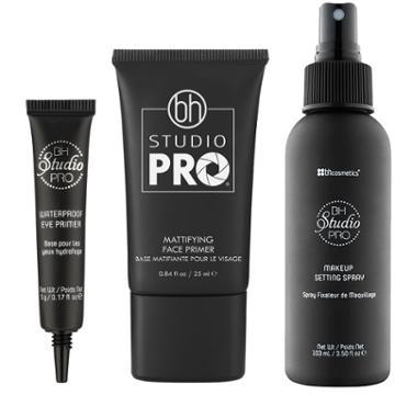 Bh Cosmetics Haul: Studio Pro Waterproof Eye Primer + Studio Pro Mattifying Face Primer + Studio Pro Makeup Setting Spray