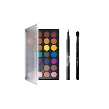 Bh Cosmetics Haul - Foil Eyes 28 Color Palette + Bh Liquid Eyeliner + Brush 12 - Blending Brush