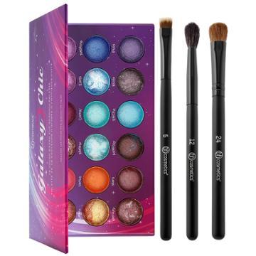 Bh Cosmetics Haul: Galaxy Chic Palette + Blending Eye Trio Brush Set