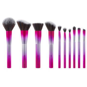 Bh Cosmetics Royal Affair - 10 Piece Metalized Brush Set
