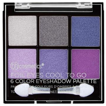 Bh Cosmetics Foil Eyes Cool To Go - 6 Color Eyeshadow Palette