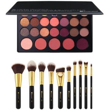 Bh Cosmetics Haul: Blushed Neutrals Palette + Sculpt & Blend 2 Brush Set