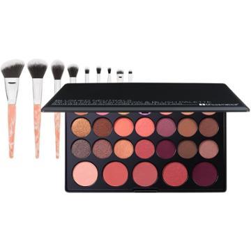 Bh Cosmetics Haul: Blushed Neutrals Palette + Rose Quartz Brush Set