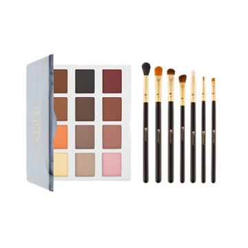 Bh Cosmetics 48-hour Haul - Marble Collection - Warm Stone - 12 Color Eyeshadow Palette + Eye Essential - 7 Piece Brush Set