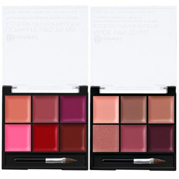 Bh Cosmetics Lips To Go Palettes - 6 Color Lipstick Palettes