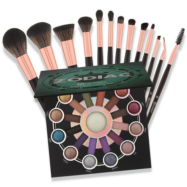 b9f9fa5f47c97 Bh Cosmetics Haul  Zodiac + Bh Signature Rose Gold Brush Set ...