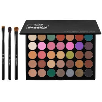 Bh Cosmetics Haul: Ultimate Artistry Palette + Blending Eye Trio Brush Set