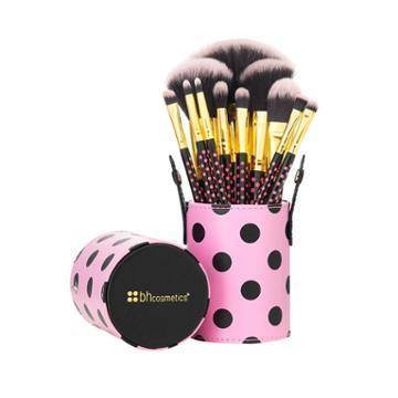 Bh Cosmetics Pink-a-dot - 11 Piece Brush Set