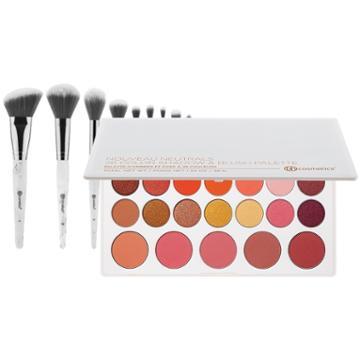 Bh Cosmetics Haul: Nouveau Neutrals Palette + White Marble Brush Set