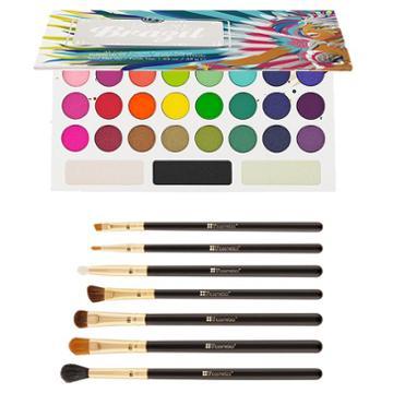 Bh Cosmetics Haul: Take Me Back To Brazil Palette + Eye Essential Brush Set