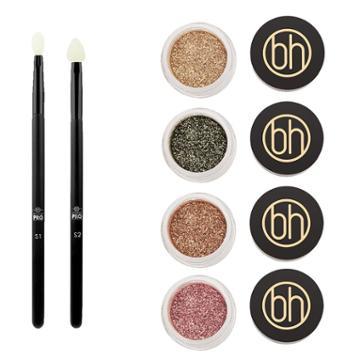 Bh Cosmetics Haul: 4 Diamond Dazzlers + Silicone Paddle Applicators