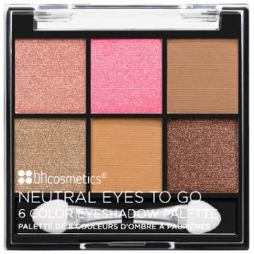 Bh Cosmetics Neutral Eyes To Go - 6 Color Eyeshadow Palette