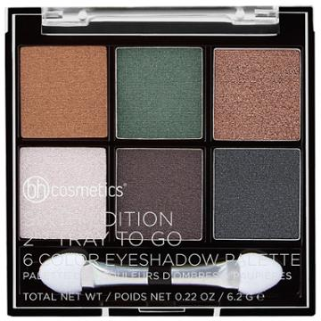 Bh Cosmetics Sixth Edition 2nd Tray To Go - 6 Color Eyeshadow Palette