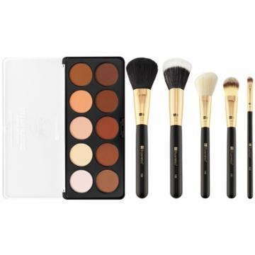 Bh Cosmetics Haul: Studio Pro Contouring Palette + Face Essential Brush Set