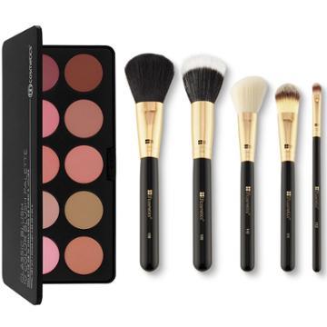 Bh Cosmetics Haul: Classic Blush Palette + Face Essentials Brush Set