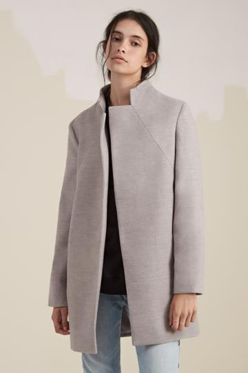 The Fifth The Fifth Dream Town Coat Grey Marle