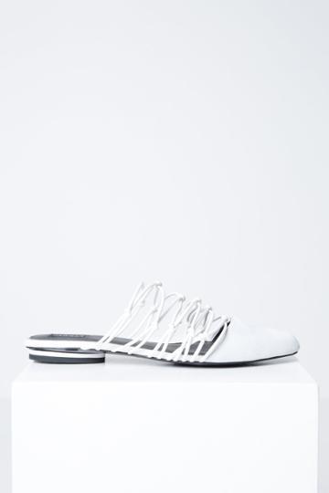 Jaggar Footwear Series Flat Chalk
