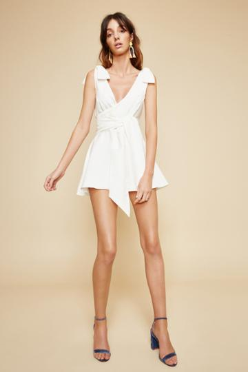C/meo Collective C/meo Collective Vision Of You Playsuit Ivoryxxs, Xs,m,l