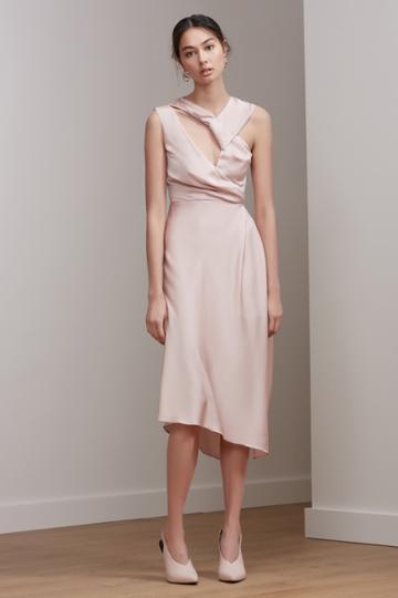 Keepsake Keepsake Transcend Midi Dress Blush