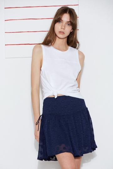 The Fifth The Fifth Streamline Skirt Navyxxs, Xs,m,l