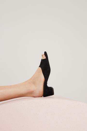 Jaggar Footwear Jaggar Footwear Action Block Heel Black