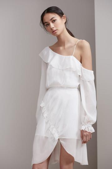 Keepsake Keepsake Paperthin Mini Dress Ivory