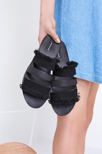 Jaggar Footwear Summit Flat Black