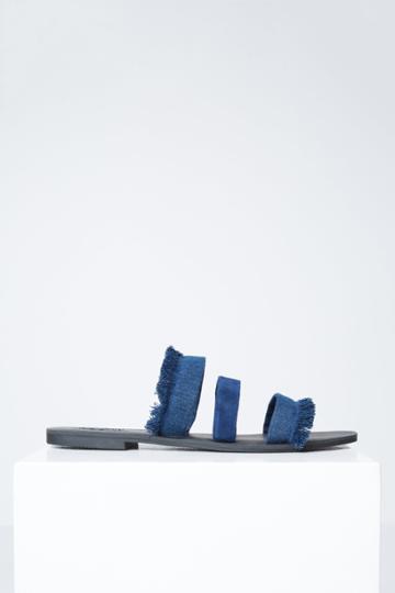 Jaggar Footwear Summit Flat Denim