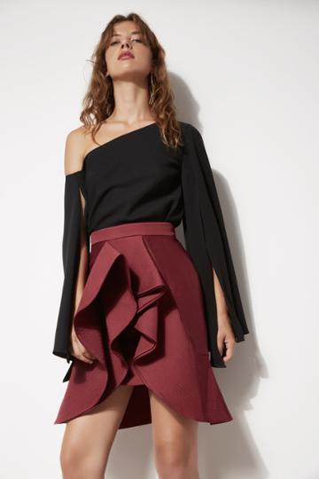 C/meo Collective C/meo Collective Extant Skirt Mahogany