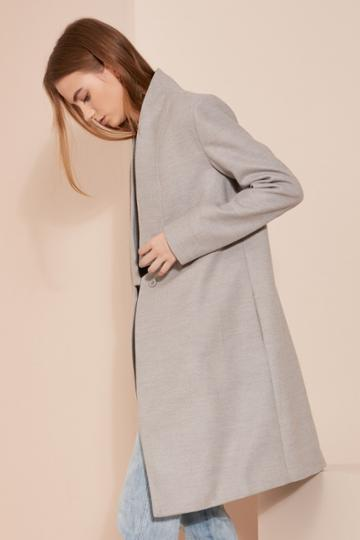 The Fifth The Orbit Coat Grey Marle